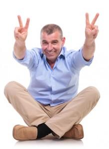 Positiv sein stärkt das Selbstbewusstsein